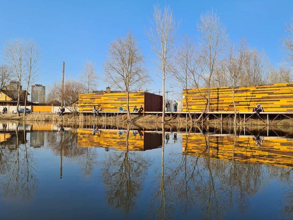 Каяк Каное Центр на озері Мартишів, Осокорки