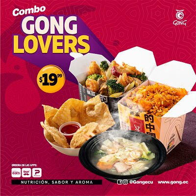 combo gong lovers