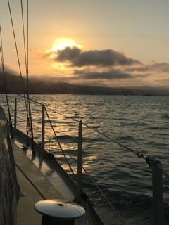even winter sailing is beautiful in san francisco bay
