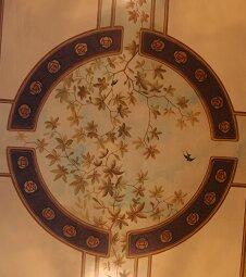 Element in der Deckenmalerei