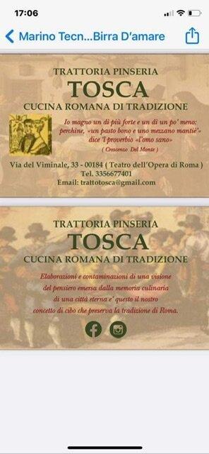 Tosca Roma