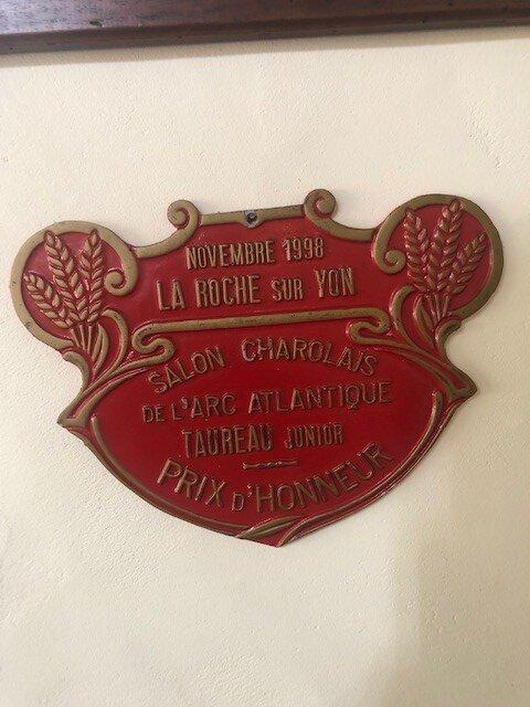 prémio honra charolês 1998