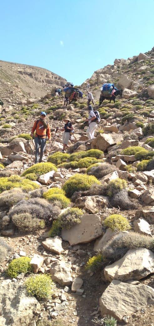 The beautiful Morocco  Amazing trek around Telouat