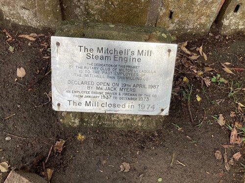 Mitchell's Mill Steam Engine
