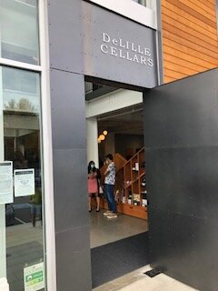 Entrance to new cellars