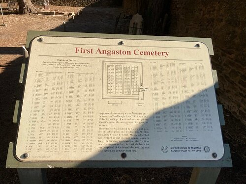 First Angaston Cemetery