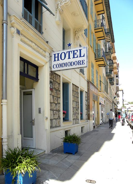 H tel commodore hotel nice voir 35 avis et 13 photos for Chambre d hotel nice