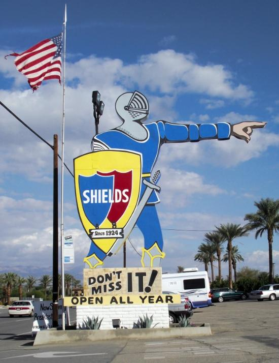 Shields Cafe Indio Ca