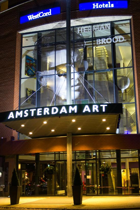 Westcord art hotel amsterdam the netherlands hotel for Art hotel amsterdam
