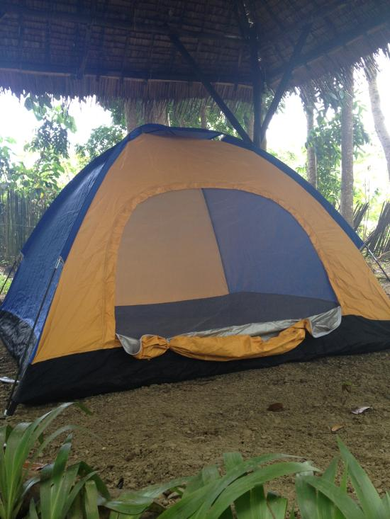 Tent and Breakfast @ Irawan Eco Park