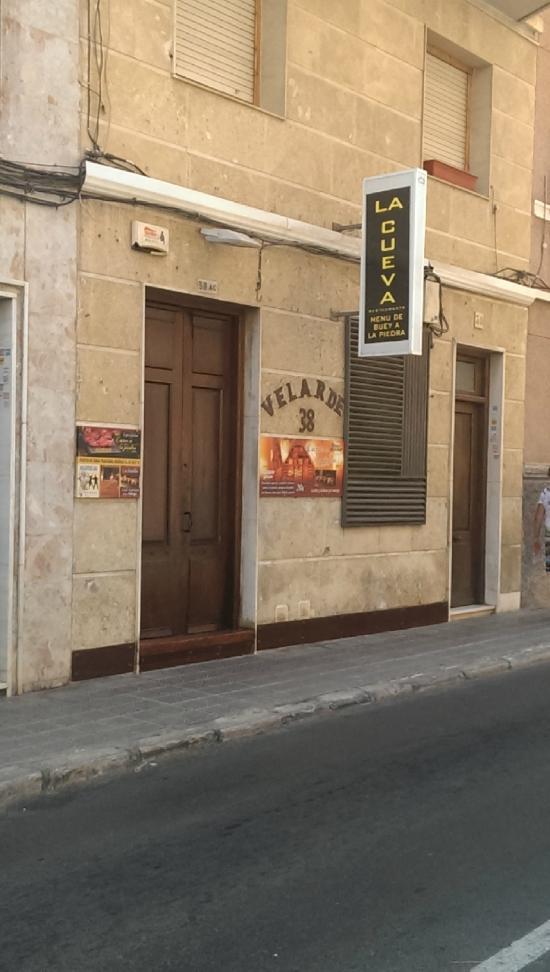 Restaurante la cueva elche restaurantbeoordelingen for Restaurante la cueva zamora