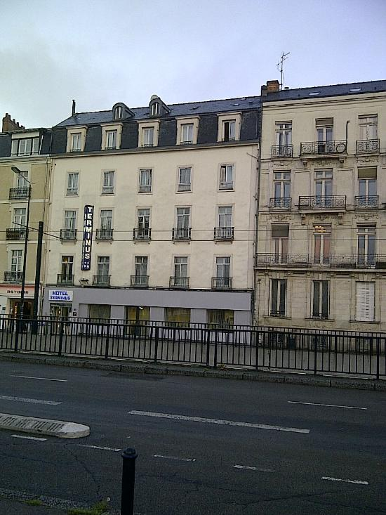 Hotel terminus updated 2016 reviews price comparison for Hotel france nantes