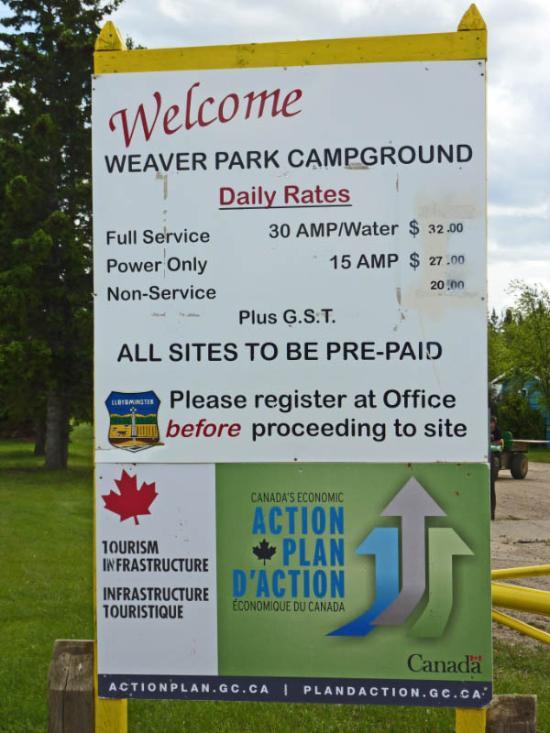 Weaver Park Campground