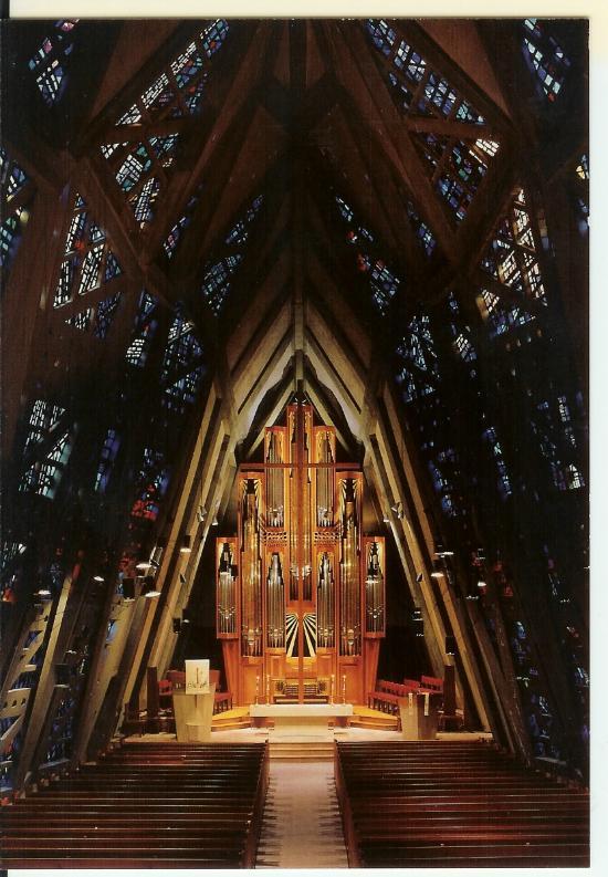 The Fish Church Interior