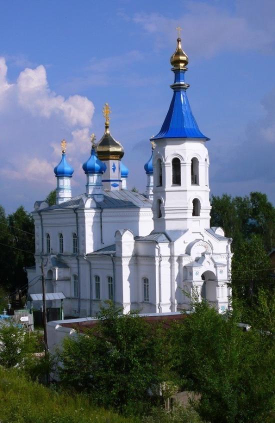 Церковь святых первоверховных апостолов Петра и Павла, г. Салаир, Кемеровская область
