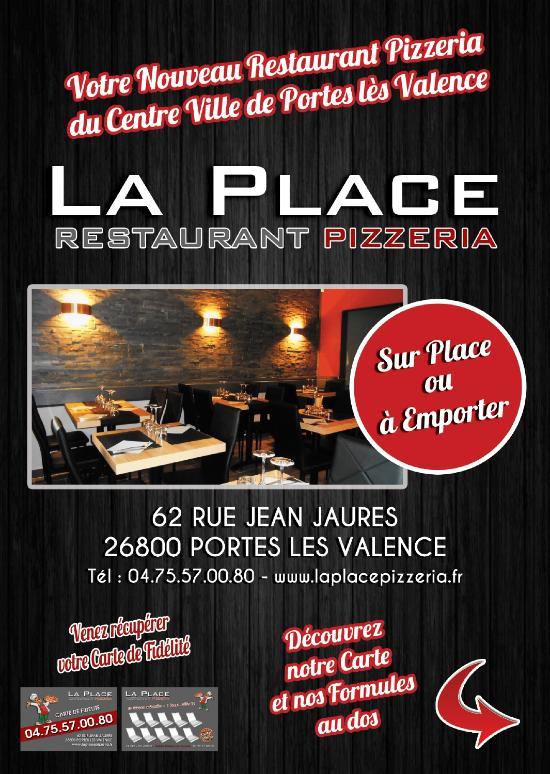 La place restaurant pizzeria portes l s valence - Restaurant chinois portes les valence ...