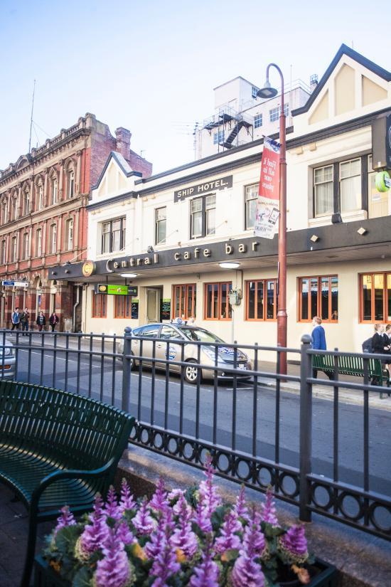 中央咖啡館酒吧酒店