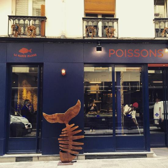 Restaurant la mar e jeanne dans paris avec cuisine for Restaurant cuisine francaise paris