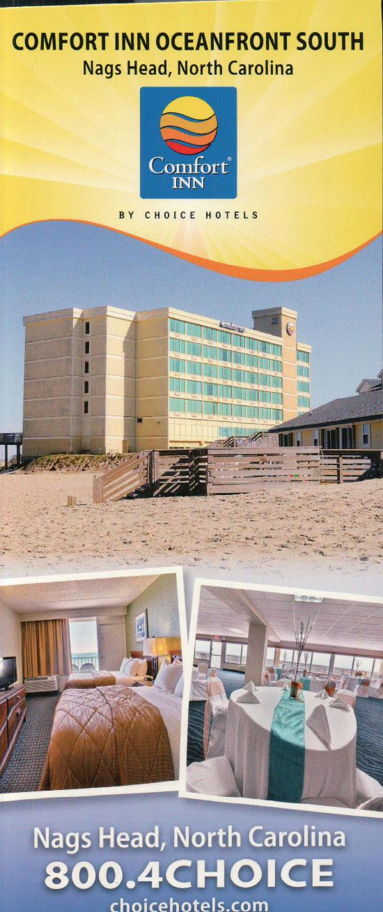 Brochure of the hotel