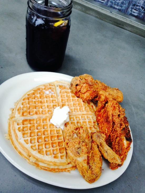 Chicken, Waffles, and Kool-Aid