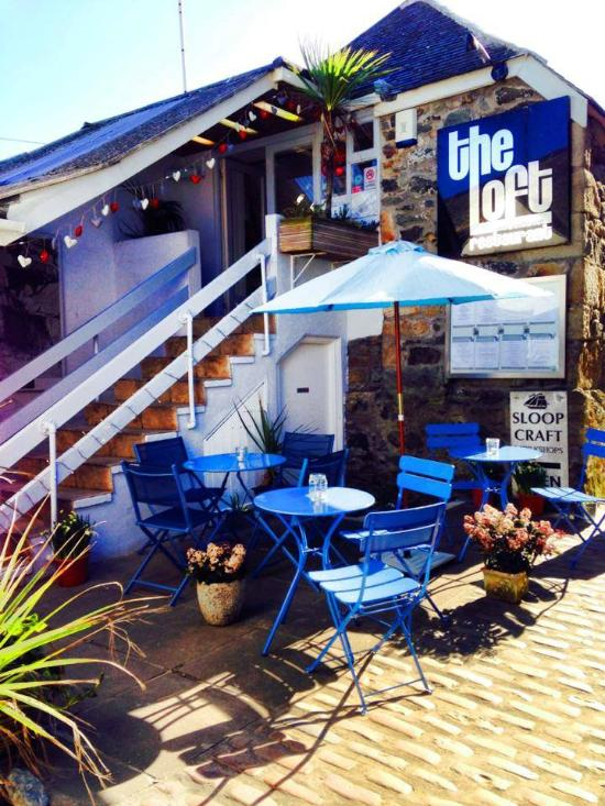 The loft restaurant terrace st ives restaurant for 22 the terrace st ives