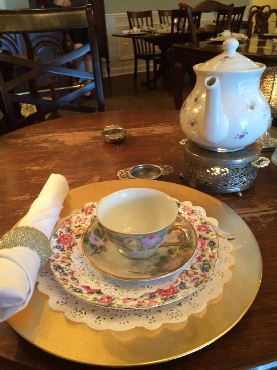 British Bell Tea Room Newark Delaware