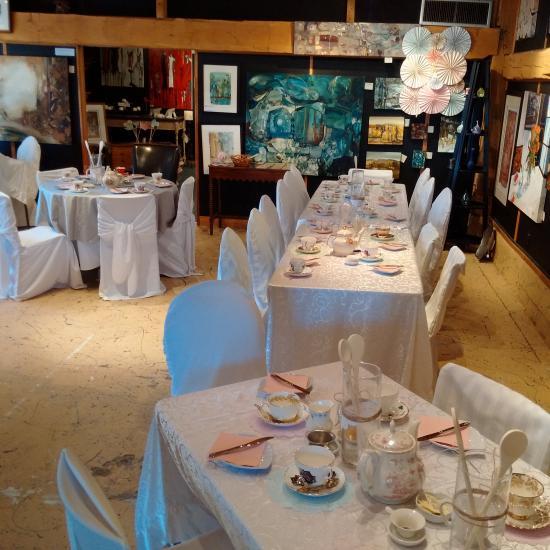 Places To Visit In Milton Canada: The Escarpment Tea Room, Milton
