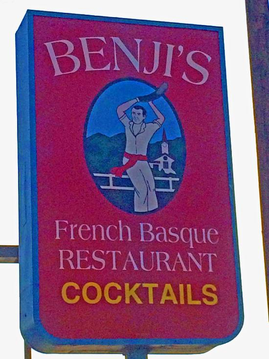 Benji S French Basque Restaurant Bakersfield Ca