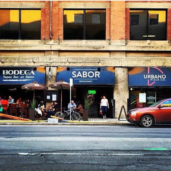 sabor restaurant edmonton downtown restaurant reviews. Black Bedroom Furniture Sets. Home Design Ideas