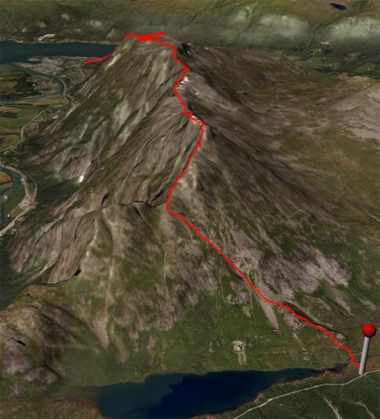 Romsdalseggen Camping Isfjorden Norge Campingplass