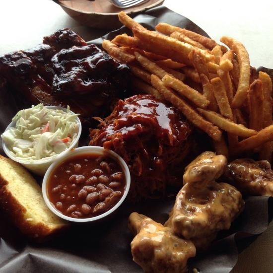 Places To Visit In Milton Canada: Memphis BBQ & Wicked Wings, Milton