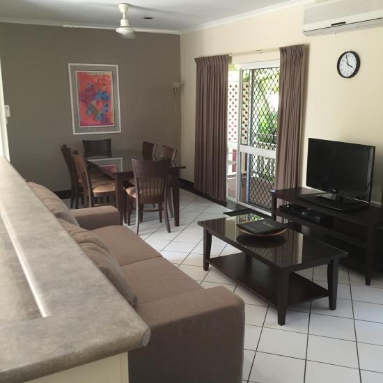 Review Apartments: Nimrod Resort Apartments