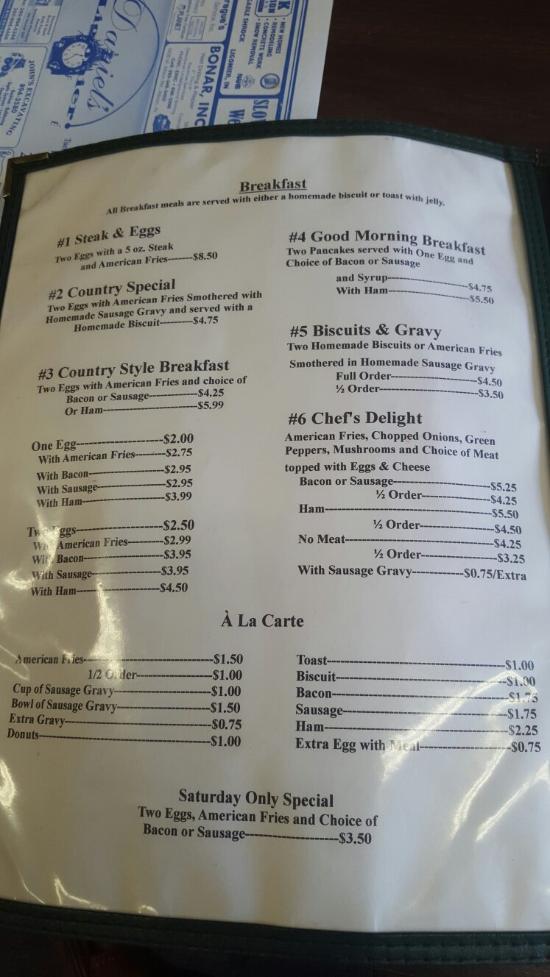 Daniel S Ligonier Cafe