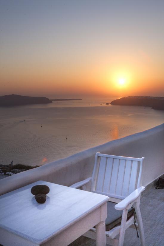 Santorini's Balcony