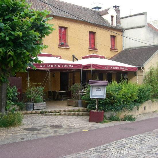 Jardin fonda pontoise restaurant avis num ro de for Jardin 4 moineaux