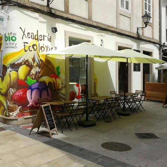 Restaurante heladeria ecologica the bio factory en a - Cocinas en coruna ...