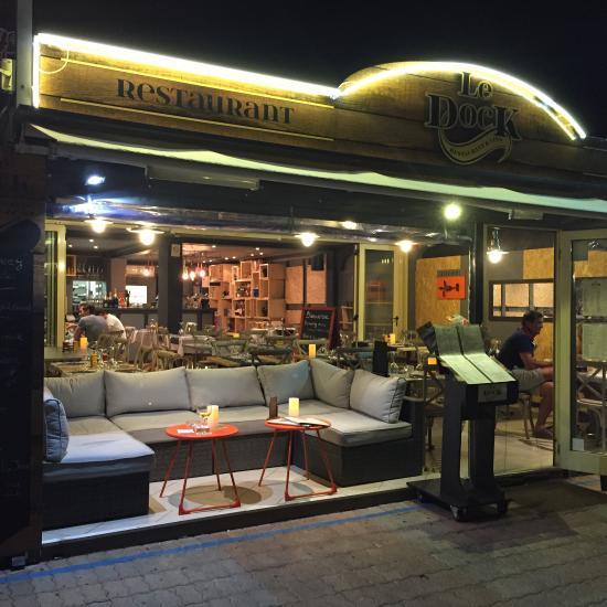 Restaurant le dock dans saint raphael avec cuisine autres - Restaurants port santa lucia saint raphael ...