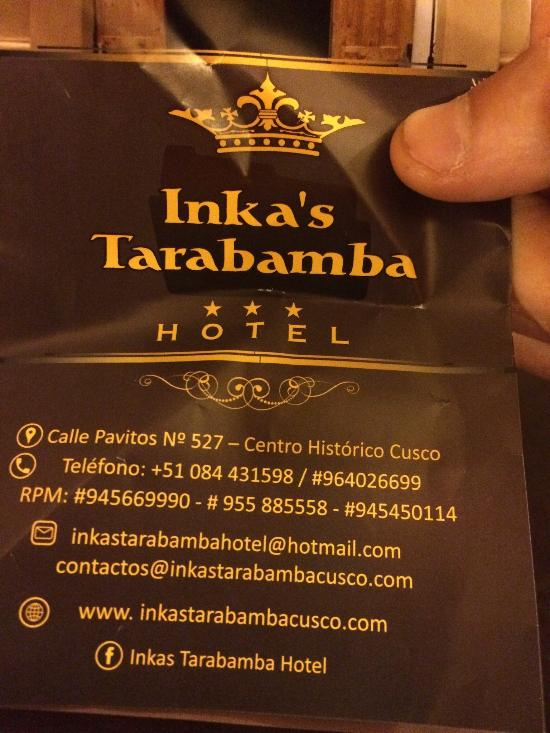잉카스 타라밤바 호텔