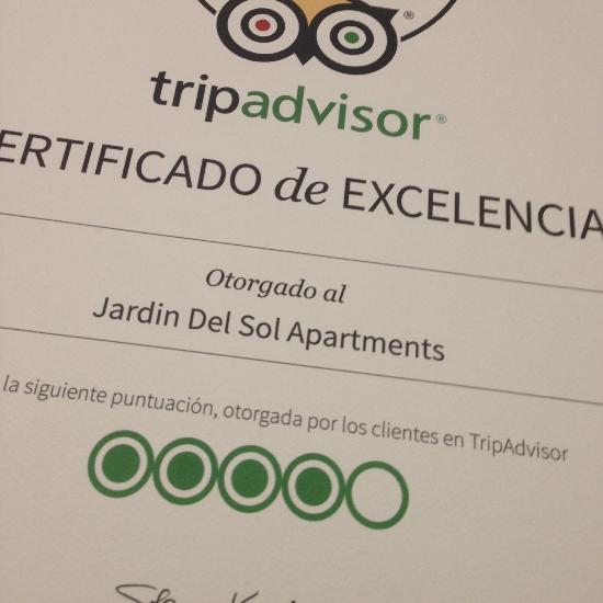Jardin del sol apartments apartment reviews playa del for Jardin ingles