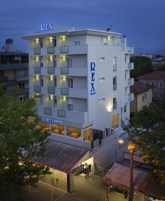Hotel rex rimini italie voir les tarifs et avis h tel for Tarifs hotel