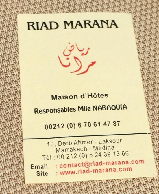 Riad Marana