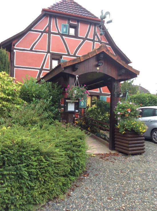 L 39 auberge du tisserand h tel gommersdorf voir les for Auberge du haut jardin