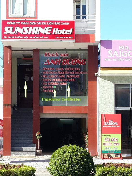 Sunshine Hotel Quang Binh