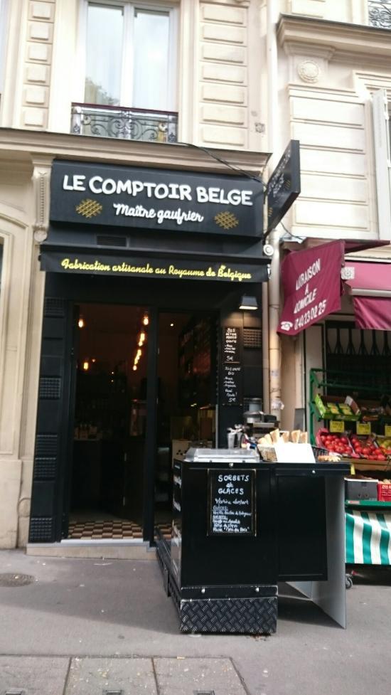 Le comptoir belge paris 58 rue des martyrs op ra for Restaurant miroir rue des martyrs