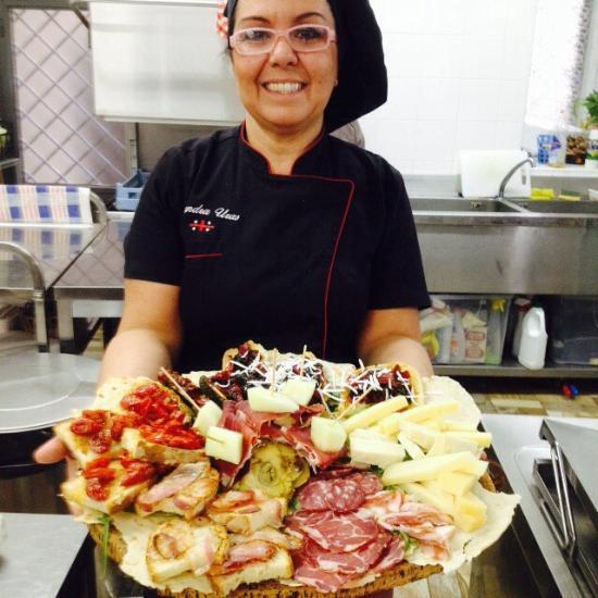 Si Riportano In Cucina Of Ristorante Osteria Del Seminario In Viterbo Con Cucina