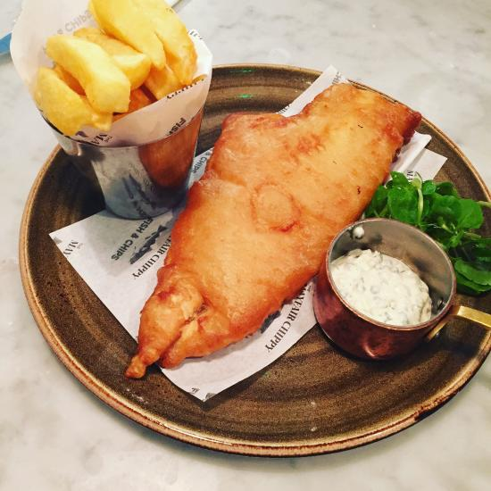 Kuche Fish And Chips: The Mayfair Chippy, Fish And Chips, London