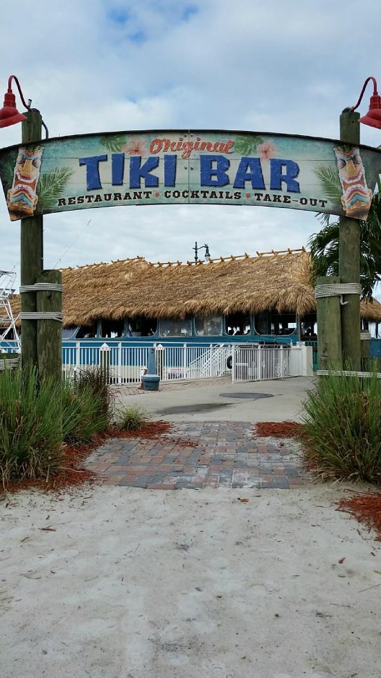 The Original Tiki Bar Restaurant Fort Pierce Fl