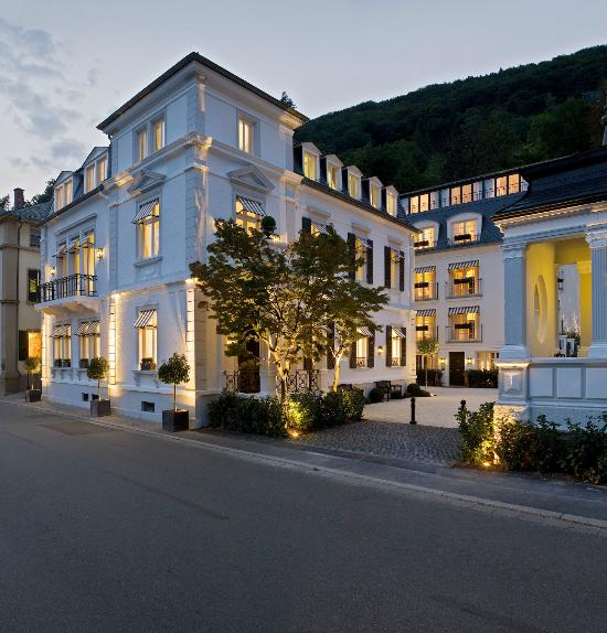 Boutique hotel heidelberg suites small luxury hotels for Boutique hotel deutschland
