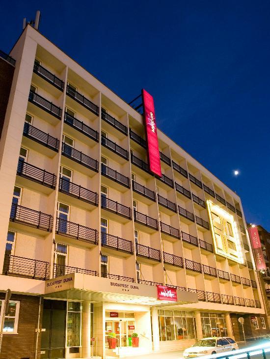 โรงแรมเมอร์คิวร์บูดาเปสต์ดูนา