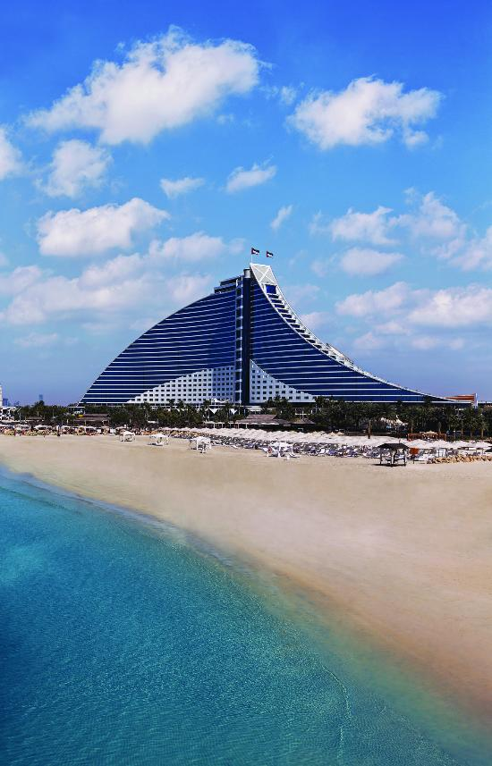 Jumeirah beach hotel dubai united arab emirates for Dubai beach hotels